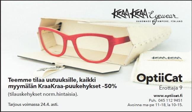 Kraa Kraa puukehykset -50%